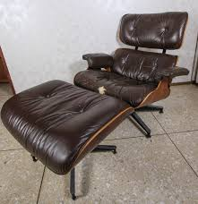 Eames Chair With Ottoman Vintage Eames Lounge Chair And Ottoman By Herman Miller Ebth
