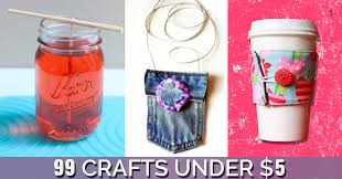 99 Awesome Crafts You Can Make For Less Than $5 - DIY Projects for Teens