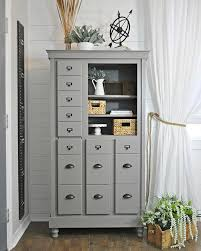 paint furniture ideas colors. Card File Painted With Sherwin Williams Dovetail - Paint Furniture Ideas Colors
