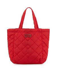 MARC by Marc Jacobs Crosby Quilted Tote Bag, Rosey Red &  Adamdwight.com