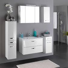 Badezimmer Set Sagunis In Weiß Hochglanz Wohnende