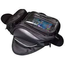 Lozom Motorcycle Gas Oil Fuel Tank Bag Waterproof ... - Amazon.com