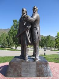 Image result for joseph smith and brigham young