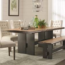 raw edge dining table. Natural Live Edge Dining Table 107801 Mn Raw