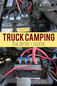 1000 images about dual battery rear seat trays truck camping dual battery setup in a toyota 22re