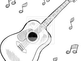Small Picture Electric Guitar Coloring Pages 490 Free Printable Coloring Pages