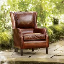 Living Room Chair Designs Brown Leather Chair Living Room Chairs Arhaus Furniture