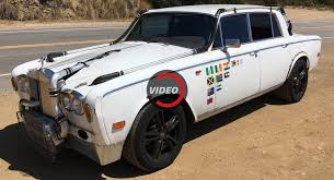 A Posh Mad Max Would Be All Over This Custom Rr Silver Shadow Ii