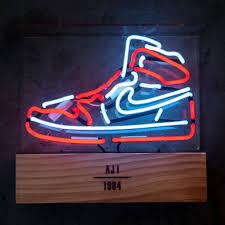 Jordan Shoes With Lights These Neon Lights Pay Tribute To The Air Jordan 1 A