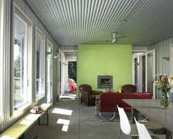 corrugated metal ceiling installation corrugated metal ceiling in basement corrugated metal ceiling home design ideas pictures