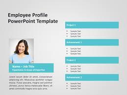 Employee Profile Sample Employee Profile Powerpoint Template 4 Slideuplift