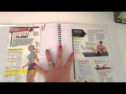 Work Out Journal How I Organize My Workout Journal