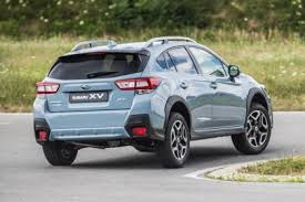 2018 subaru. perfect 2018 2018 subaru xv  rear in subaru