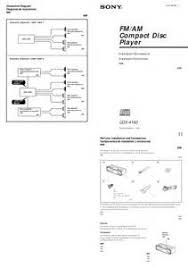 watch more like sony car radio wiring diagram sony car stereo wiring diagram audio manualsonline com manuals