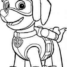 Print Paw Patrol Zuma Coloring Pages Paw Patrol Coloring Pages Paw