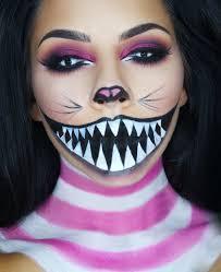 creepy cheshire cat makeup