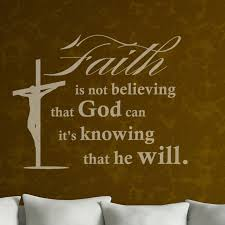 on christian wall art decals with christian wall art decal not believing that god can that he will