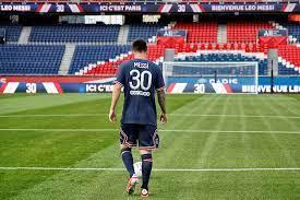 Spotted - Lionel Messi Paris PSG ...