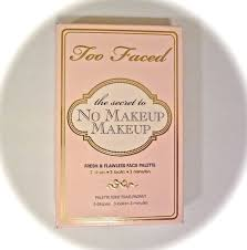 Палетка too faced too faced palette