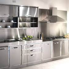 Stainless Steel Kitchen Furniture Stainless Steel Kitchen Cabinets Cost Lovely How Much Do Kitchens