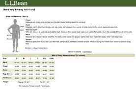 Ll Bean Boot Size Chart Ll Bean Size Chart App Finding Yourself Ll Bean