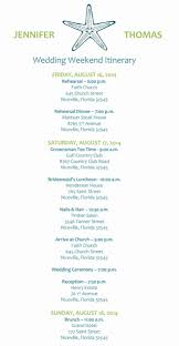 Wedding Itinerary 24 Destination Wedding Itinerary Template Free Good 19