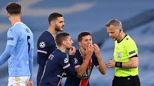 PSG players claim referee Bjorn Kuipers told them to 'f*** off' in Champions  League loss at Man City - Eurosport