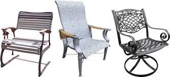 patio furniture refinishing outdoor