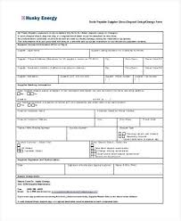 Direct Deposit Sheet Direct Deposit Enrollment Form Template Word Free Templates Canada
