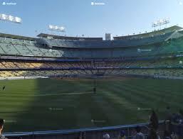 Dodger Stadium Left Field Pavilion 313 Seat Views Seatgeek