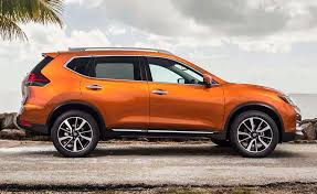 2018 nissan rogue black. exellent black the rear end has also gained a new vmotionstyle led lighting element but  no imbedded chrome pieces a more modern feel is through smoked turn  to 2018 nissan rogue black