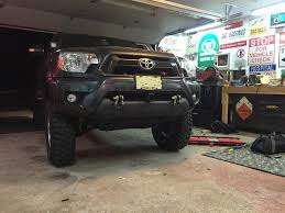 2005 - 2015 Tacoma Front Recovery Bar - Mobtown Offroad