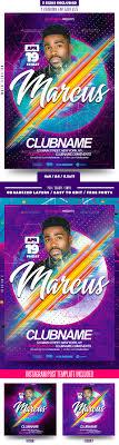trap reggaeton flyer hip hop flyer graphics designs templates from graphicriver