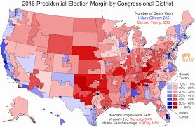 presidential elecion results 2016 us election results map disticts of state map election in a