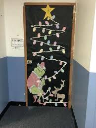 office christmas door decorating ideas. Decorate An Office Door For Christmas Winter Holiday Cubicle Decorating Ideas S