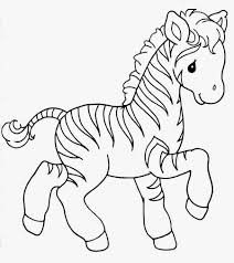 Small Picture Zebra Coloring Pages Coloring Page