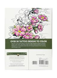 Creative Haven Floral Design Color By Number Coloring Book Shop Creative Haven Modern Tattoo Designs Paperback Online In Dubai Abu Dhabi And All Uae