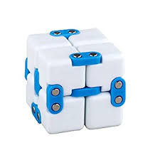 infinity cube amazon. dacawin infinity cube for stress relief fidget anti anxiety funny edc toy gift (blue amazon a