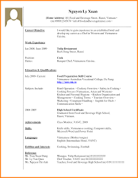 Resume For Work Experience - April.onthemarch.co