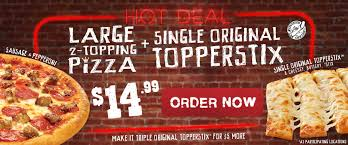 save with a variety of toppers pizza available for your next purchase into 2017