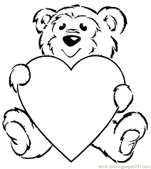Small Picture Amazing Teddy Bear Coloring Pages Free 11 In Free Colouring Pages