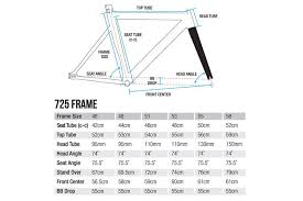 Fixed Gear Bike Frame Size Chart Fixie Size Chart Buurtsite Net