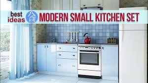 Compact Kitchen Cabinets Modern Kitchen Set For Small Space