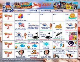 event calendar event calendar malibu beach camp