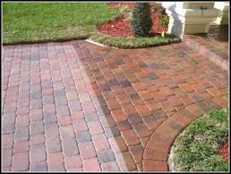 block paving patio paver sealer
