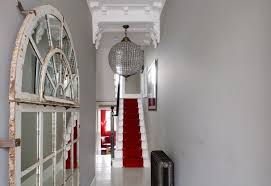 1 narrow hallway decoration decor interior design white