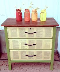 diy decoupage furniture. bedroom nightstand furniture makeover diy decoupage mod podge ideas crafting projects diy a