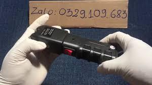 Đèn Pin Tự Vệ Chích Điện 928 Cực Mạnh, điện phóng ra 50.000v, chi tiết vào  ZALO:0329.109.683 - YouTube