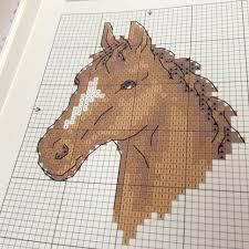 Horse Cross Stitch Pattern