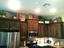 above kitchen cabinet decorative accents decor